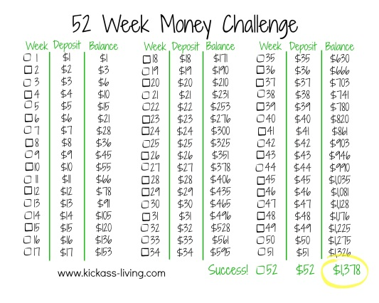 52-week-money-challenge-kickassliving