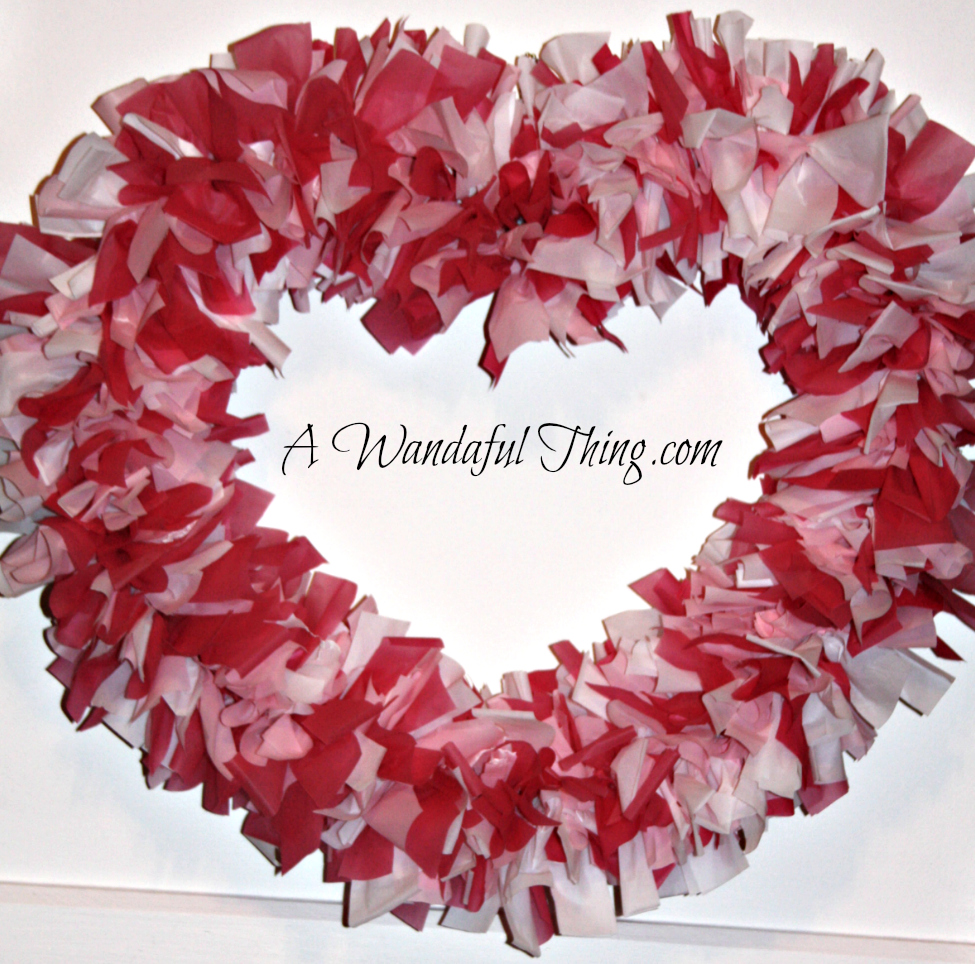 Vinyl Valentine Day Wreath Diy A Wandaful Thing