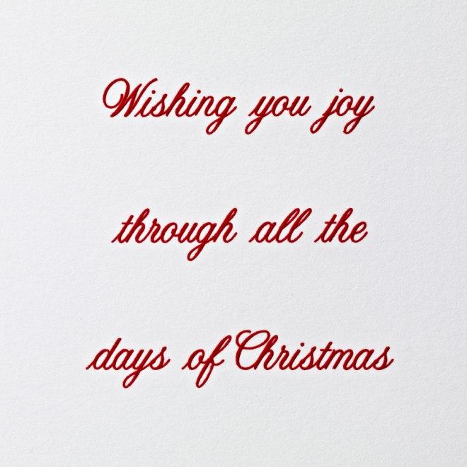 12 Days of Christmas verse image