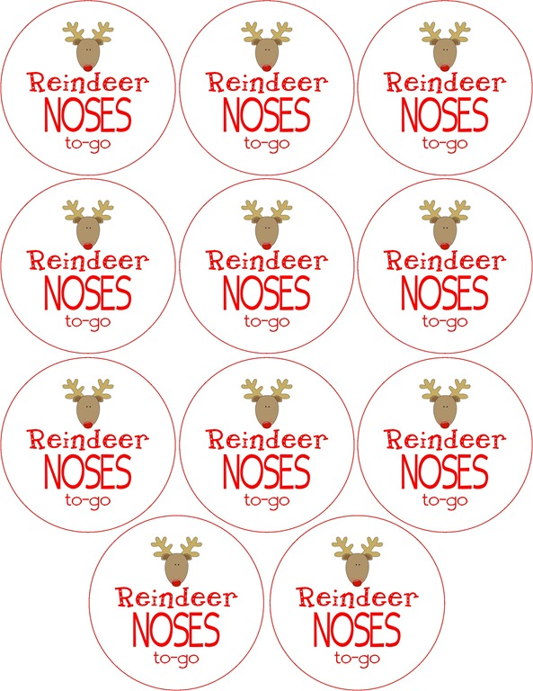 Reindeer Noses To Go Labels5