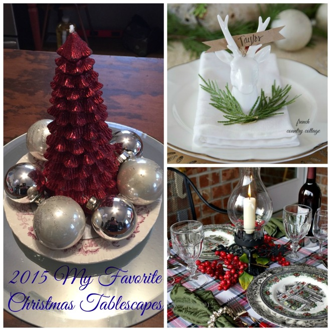 Tablescape favorites