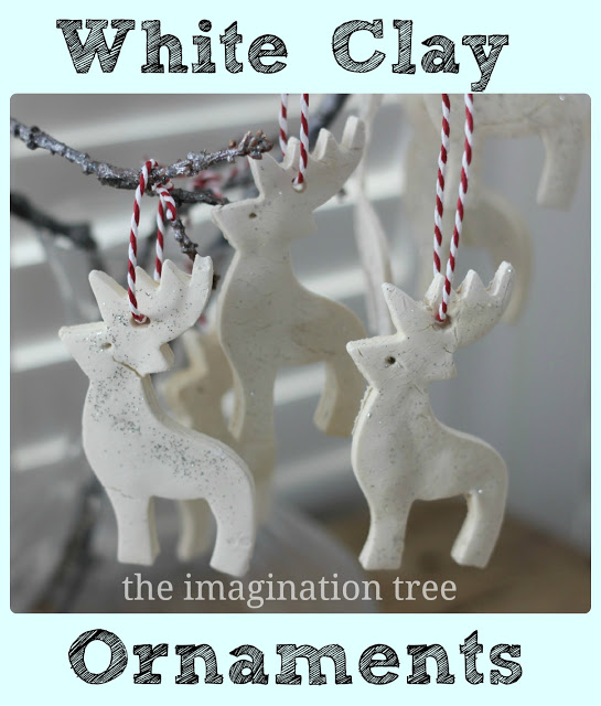 White+clay+ornaments