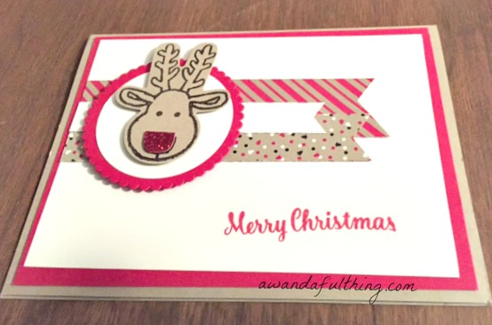 Day 10- Handmade Reindeer Cards